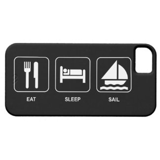 Eat Sleep Sail iPhone 5 Cover
