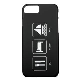 Eat Sleep Sail iPhone 7 Case