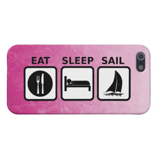 Eat Sleep Sail Case For iPhone 5