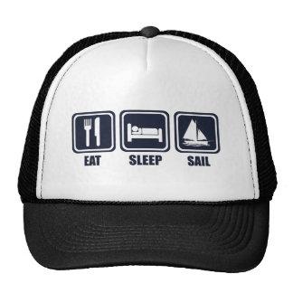 Eat Sleep Sail Repeat Cap