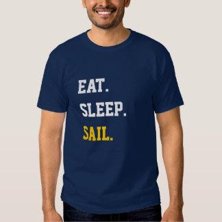 Eat Sleep Sail T Shirts