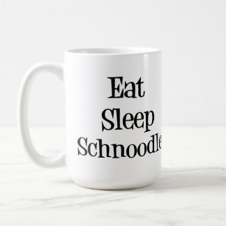 Eat Sleep Schnoodle Mug