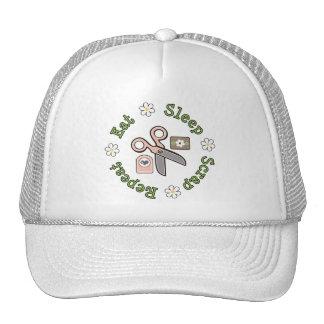 Eat Sleep Scrap Repeat Hat