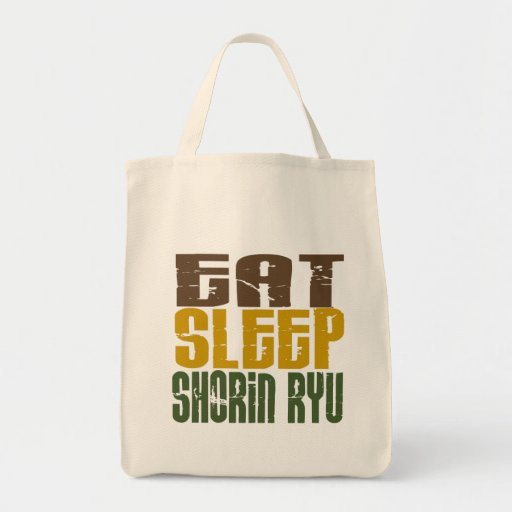 Eat Sleep Shorin Ryu 1 Canvas Bag
