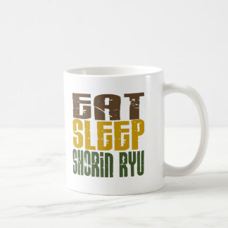 Eat Sleep Shorin Ryu 1 Basic White Mug