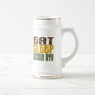 Eat Sleep Shorin Ryu 1 Beer Steins