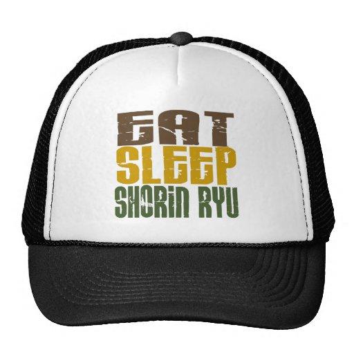 Eat Sleep Shorin Ryu 1 Mesh Hat