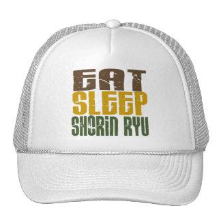 Eat Sleep Shorin Ryu 1 Mesh Hats