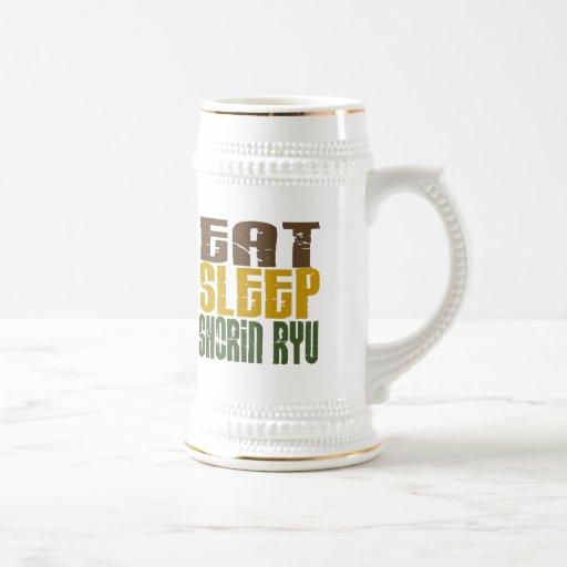 Eat Sleep Shorin Ryu 1 Mug