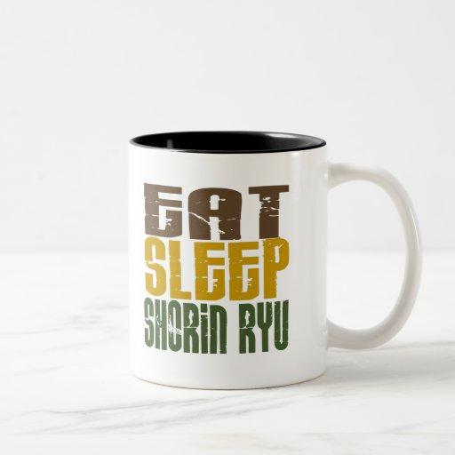 Eat Sleep Shorin Ryu 1 Coffee Mugs