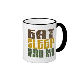 Eat Sleep Shorin Ryu 1 Ringer Mug