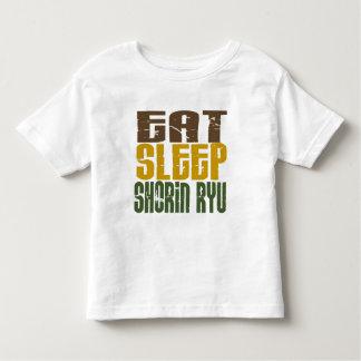 Eat Sleep Shorin Ryu 1 Tee Shirts