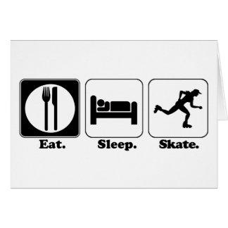 eat sleep skate card