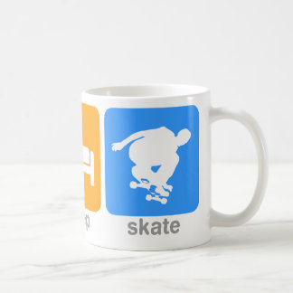 Eat Sleep Skate Coffee Mug