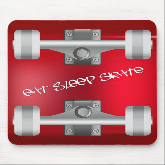 Eat Sleep Skate mouse pad