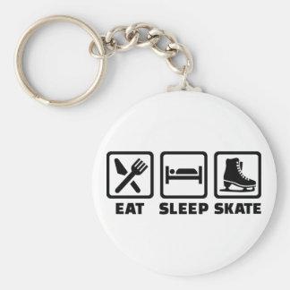 Eat Sleep Skate skating Keychains