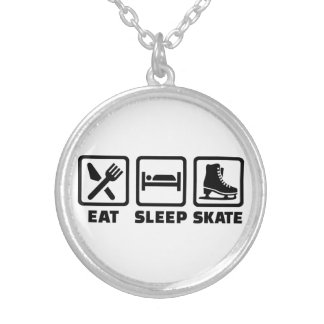 Eat Sleep Skate skating Custom Jewelry