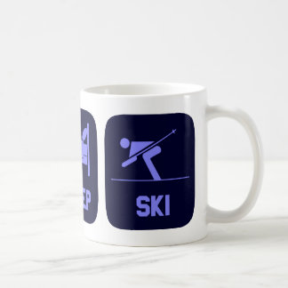 Eat Sleep Ski Coffee Mug