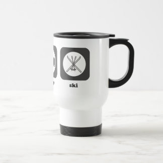 Eat. Sleep. Ski. Mug