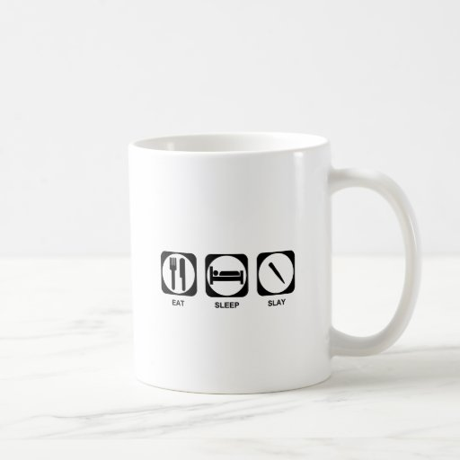 Eat Sleep Slay Mug