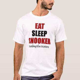 Eat sleep snooker T-Shirt