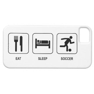 Eat Sleep Soccer iPhone 5 Cover