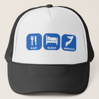 Eat Sleep Somalia Trucker Hat