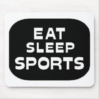 Eat Sleep Sports Mousepad