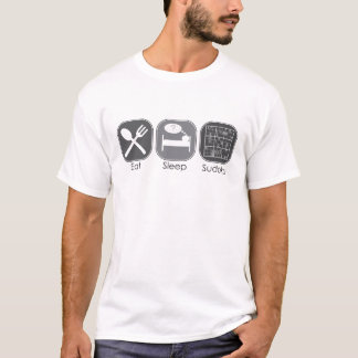 Eat Sleep Sudoku Copy T-Shirt
