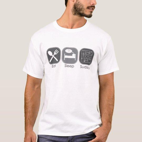 Eat Sleep Sudoku Copy T-Shirt