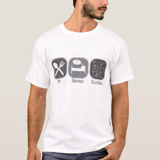 Eat Sleep Sudoku T-Shirt