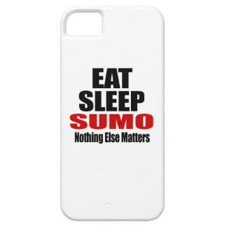 EAT SLEEP SUMO BARELY THERE iPhone 5 CASE
