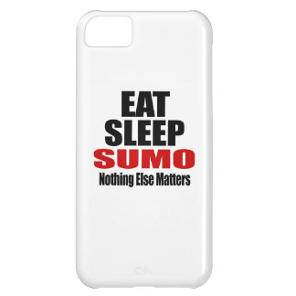 EAT SLEEP SUMO iPhone 5C CASE
