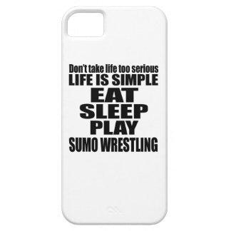 EAT SLEEP SUMO WRESTLING iPhone 5 CASE