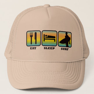 Eat, Sleep, Surf Trucker Hat