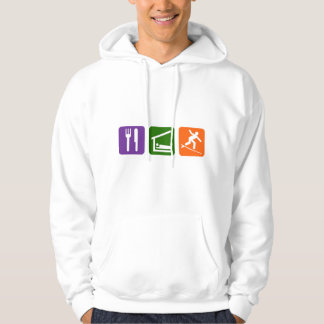Eat Sleep Surfing Hoodie