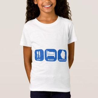 Eat Sleep Swaziland T-Shirt