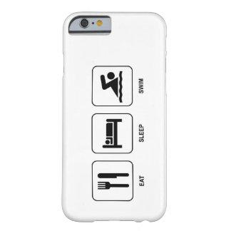 Eat Sleep Swim iPhone 6 Case