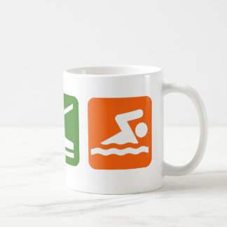 Eat Sleep Swimming Coffee Mug