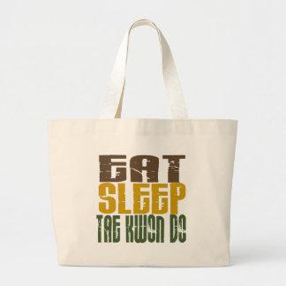 Eat Sleep Tae Kwon Do 1 Canvas Bag