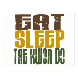 Eat Sleep Tae Kwon Do 1 Postcard