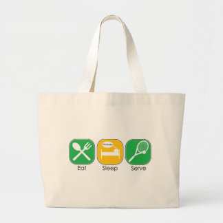 Eat Sleep Tennis Canvas Bags