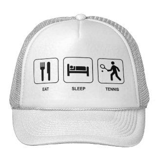 Eat Sleep Tennis Hat