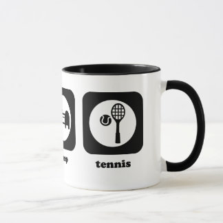 Eat. Sleep. Tennis. Mug