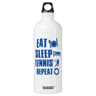 Eat sleep Tennis Water Bottle