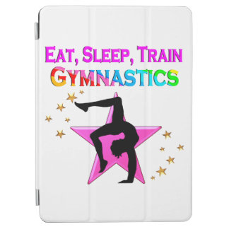 EAT, SLEEP TRAIN GYMNASTICS iPad AIR COVER