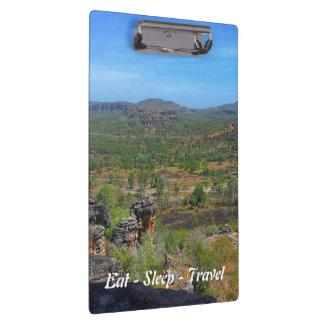Eat Sleep Travel Arnhemland clipboard