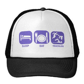 Eat Sleep Triathlon Trucker Hat