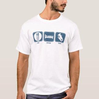eat sleep tuba T-Shirt