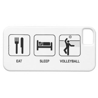 Eat Sleep Volleyball iPhone 5 Cover